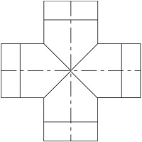 90 Degree Cross